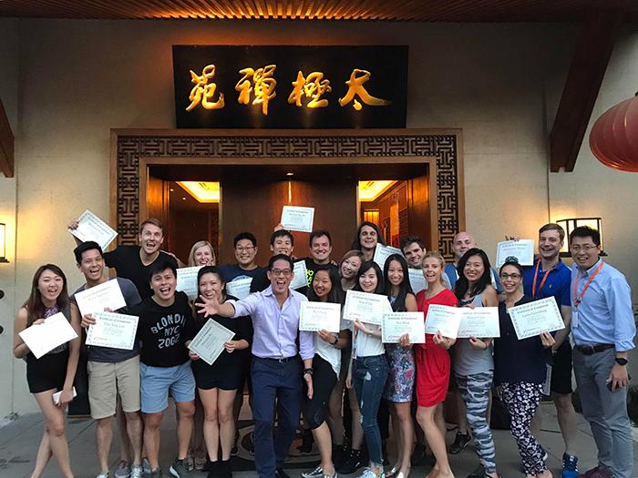 ผู้เข้าร่วมโครงการ-AGLA-ร่วมฝึกปฏิบัติการและกิจกรรมต่างๆ-เพื่อเรียนรู้วัฒนธรรมจีน
