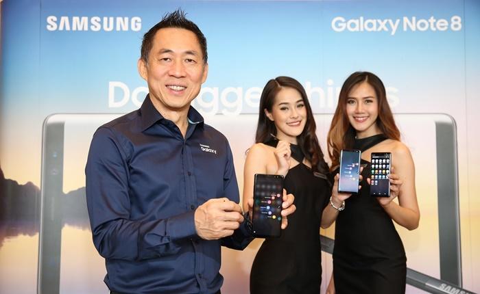 ต้องเป็นมากกว่าสมาร์ทโฟน Samsung ชู 'Note 8′ คือ Life Companion อวดยอดจองสูงกว่าทุกรุ่น!