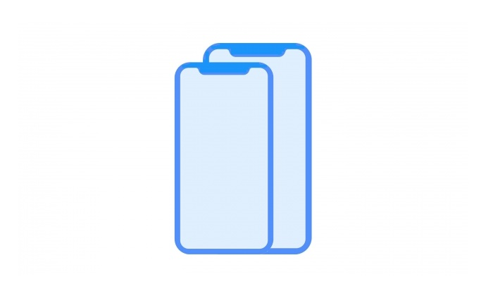 เว็บ iclarified.com เปิดเผยภาพที่คาดว่าจะเป็นขนาดหน้าจอของ iPhone รุ่นใหม่ ขนาด 5.28 นิ้ว และ 6.46 นิ้ว