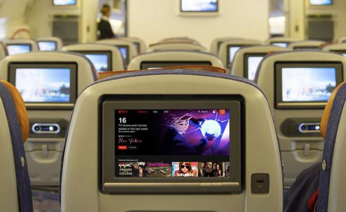 Netflix ก้าวไกล เพิ่มแหล่งรายได้ใหม่จากการฉายหนังบนเครื่องบิน