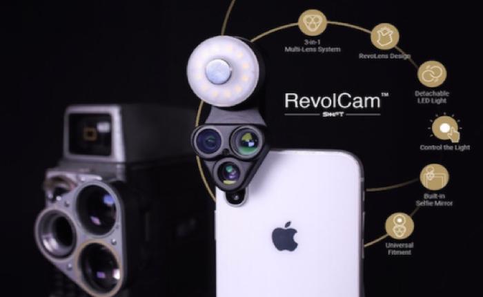 RevolCam อุปกรณ์เสริมมือถือชิ้นใหม่ เปลี่ยนคุณเป็นช่างภาพค่าตัวแพง