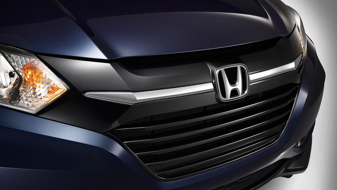 2017-Honda-Hrv-Front-Grille-Detail
