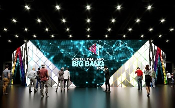 ดิจิทัลไทยแลนด์บิ๊กแบง 2017 สุดยอดนิทรรศการด้านเทคโนโลยีดิจิทัล ไทยจัดยิ่งใหญ่ที่สุดในอาเซียน