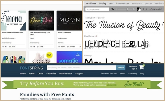 """จดด่วน! 10 เว็บไซต์แจก """"Font"""" คุณภาพแบบฟรี ๆ"""