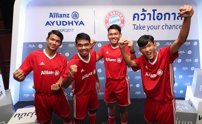 4 เยาวชนไทย โครงการ AJFC 2017 กลับบ้านเกิดอย่างสง่างาม หลังฝึกฝีแข้งกับยอดทีม บาเยิร์น มิวนิค ถึงเยอรมนี