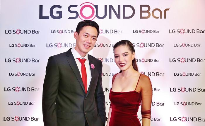 แอลจีเปิดประสบการณ์ที่สุดแห่งพลังเสียงระดับโรงภาพยนตร์ในกิจกรรม Cinematic Home by LG Premium Sound