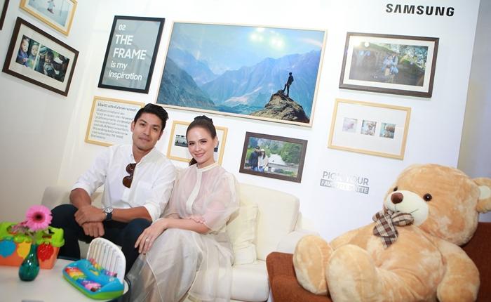 """ถ่ายทอดตัวตน ค้นพบแรงบันดาลใจไปกับ """"Samsung The Frame"""" ทีวีหนึ่งเดียวที่มอบประสบการณ์ดุจงานศิลป์"""