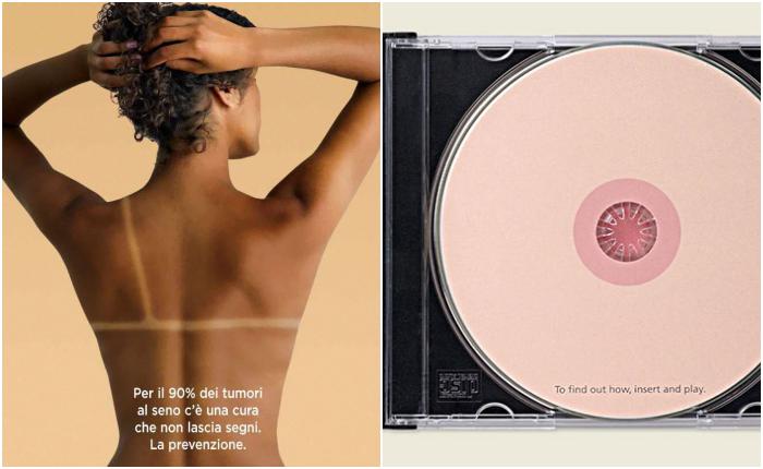 เฉียบ! 14 แคมเปญโฆษณา รณรงค์ให้ผู้หญิงตระหนักถึง 'มะเร็งเต้านม' ได้อย่างอิมแพค