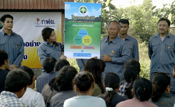 โครงการชีววิถีเพื่อการพัฒนาอย่างยั่งยืน ของการไฟฟ้าฝ่ายผลิตแห่งประเทศไทย