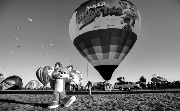 Xbox Super Luckys Tale Hot Air Balloon