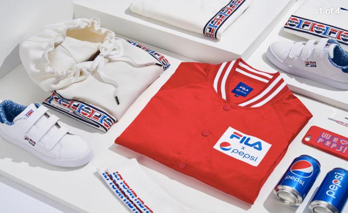 เมื่อแบรนด์ PEPSI และ FILA มาจับมือกัน จะออกเป็นคอลเลกชันเสื้อผ้ากีฬาได้เท่ดีกรีไหน?