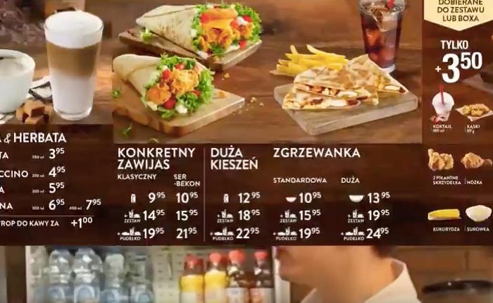 KFC โปแลนด์ เปลี่ยนชื่อเมนูอาหารให้อ่านเข้าใจง่ายสำหรับสว. ฉลองวันปู่ย่าตายายแห่งชาติ