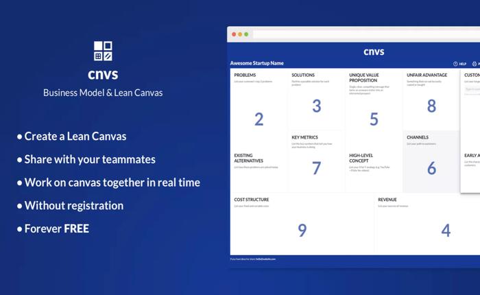 สร้าง Lean Canvas ของบริษัทคุณเองได้ใน 5 นาที พร้อมปริ้นท์มา Pitch ได้ทันใจ