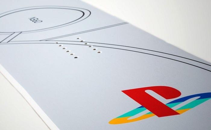 หมดยุคเล่นเกมแบบเดิมๆ Sony จับมือ Never Summer เปิดตัว Play Station ดีไซน์ 'สโนว์บอร์ด'