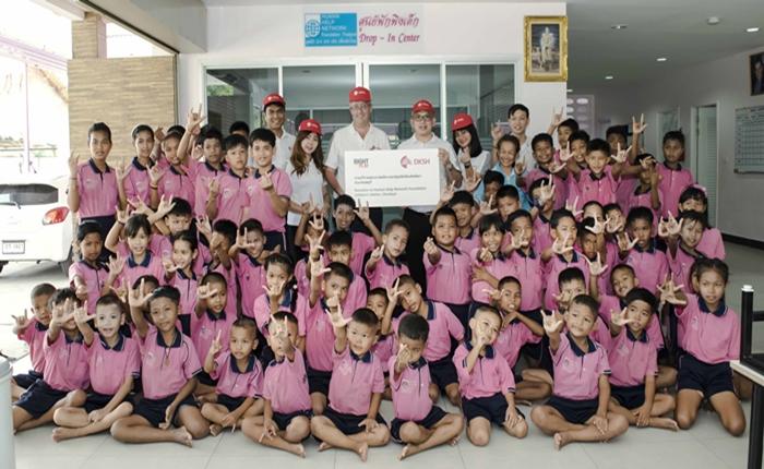 ดีเคเอสเอช ประเทศไทย ช่วยเหลือเด็กขาดแคลนในจังหวัดชลบุรี