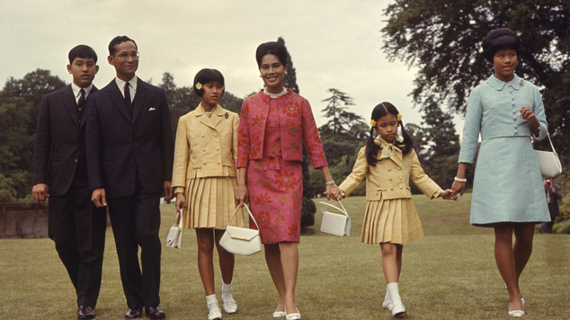 The Thai royal family visited King's Beeches in Sunninghill, Berkshire