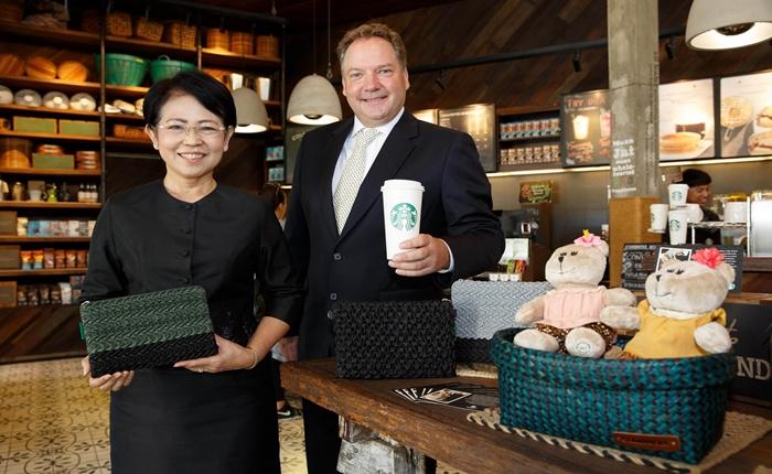 'สตาร์บัคส์' สนับสนุนผลิตภัณฑ์หัตถศิลป์ไทย เตรียมขายทุกสาขาทั่วประเทศ