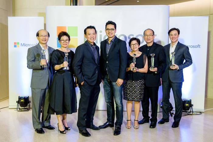 ประกาศรางวัล Microsoft Thailand Partner Award 2017