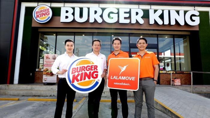 ในวันที่ Food Delivery แข่งเดือด 'BURGER KING' ปรับทัพดิจิทัลชาแนล ควบพาทเนอร์ 'LALAMOVE'