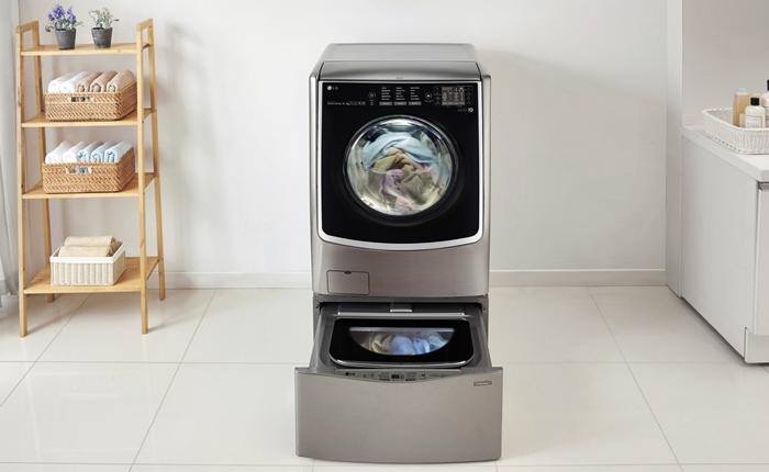 ซักผ้า 2 ถังในเครื่องเดียว นวัตกรรมใหม่จาก LG Twin Wash หมดปัญหาซักผ้าทีละถัง