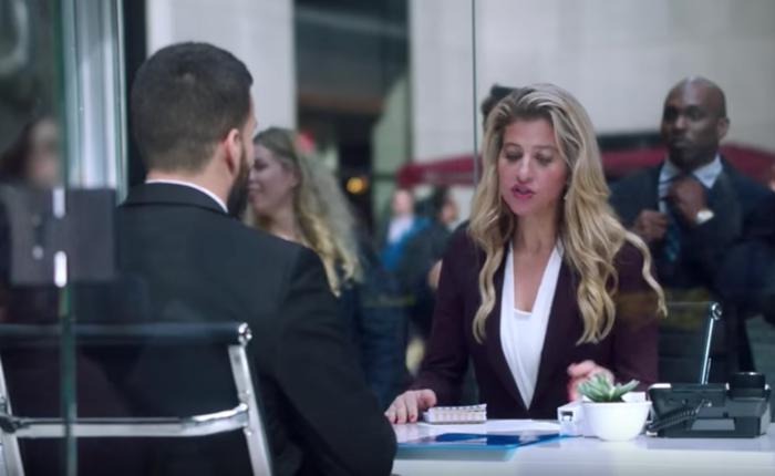 ทีวีมะกันใช้เปิดห้องสัมภาษณ์งานใจกลางไทม์สแควร์เพื่อโปรโมทซีรีส์ใหม่เอาใจพนักงานบริษัท