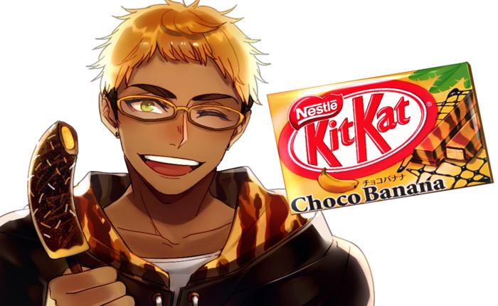 ลองนึกดูซิ หาก Kitkat เป็นคน เขาจะมีหน้าตาประมาณไหน?