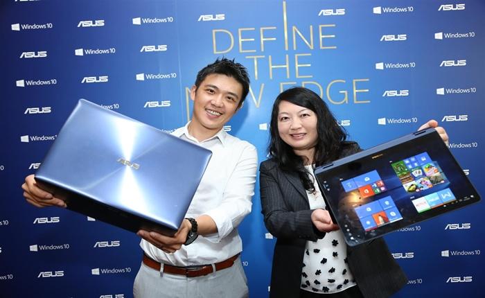เอซุสประกาศติดตั้ง Windows 10 ในแล็ปท็อปทุกรุ่นในประเทศไทย เอซุส และ ไมโครซอฟท์ ร่วมยกระดับนวัตกรรมและมอบความปลอดภัยที่เหนือกว่าให้แก่ผู้บริโภคชาวไทย