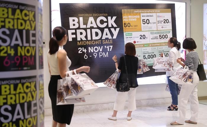BLACK FRIDAY MIDNIGHT SALE ครั้งแรกในเมืองไทย กับสามชั่วโมงสุดพิเศษ เอ็มโพเรียม เอ็มควอเทียร์