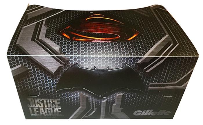 """สาวก DC เตรียมร้องว้าว """"Justice League VR Box Set"""" สุด Limited จาก Gillette เอาใจคอหนังซูเปอร์ฮีโร่"""