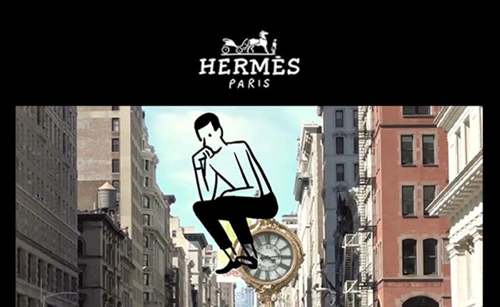 """แอร์เมสปล่อยแคมเปญบนโทรศัพท์มือถือ """"Experience Hermès Time!"""" ชวนสัมผัสห้วงเวลาในแบบฉบับแอร์เมส"""