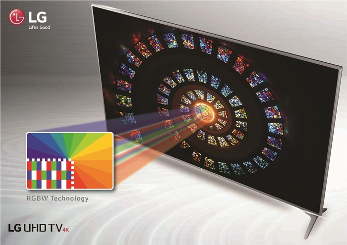 LG 4K TV RGBW Technology 2
