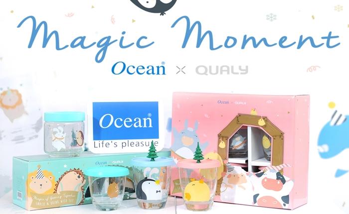 โอเชียนกลาส เปิดตัวคอลเลคชั่นใหม่สุดพิเศษ 'Magic Moment Collection' ส่งมอบความสุขสู่ทุกผู้รับกับเทศกาลปีใหม่