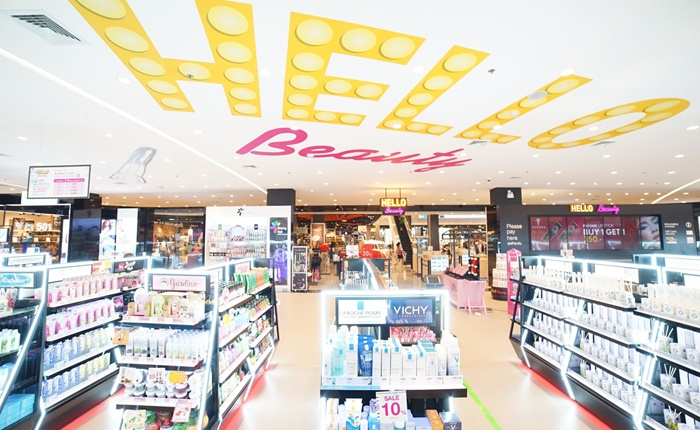 โรบินสัน ตอบโจทย์นักช้อป พลิกโฉม HELLO BEAUTY สู่ 'Multi-Brands Specialist Store 360°'