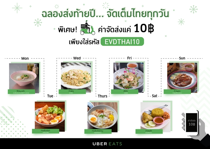 UberEATS Everyday Thai Campaign