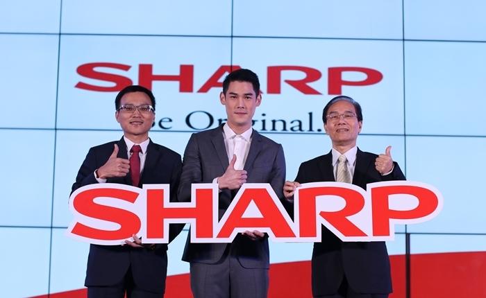 """""""ชาร์ป ไทย"""" ก้าวสู่ยุคใหม่ เดินหน้าบุกตลาดเครื่องใช้ไฟฟ้าไทยเต็มรูปแบบ พร้อมเปิดตัวพรีเซนเตอร์คนล่าสุด กันต์ กันตถาวร"""