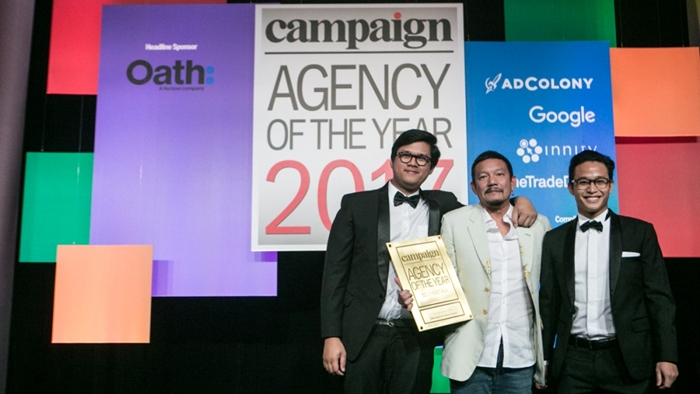 01 Gold - Digital Agency of the year_Campaign Aisa2017
