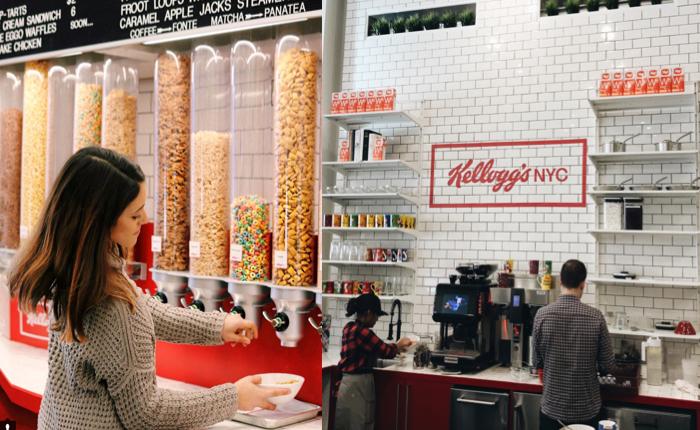 Kellogg เปิดร้านอาหารเช้าใจกลางนิวยอร์ก จะกินก็อิ่ม จะถ่ายรูปโชว์เพื่อนก็แจ๋ว