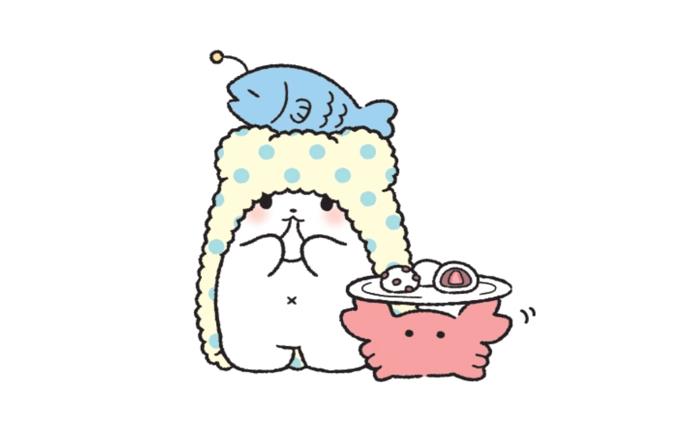 น่ารักฝุดๆ! 'Marumofubiyori' หมีขาวติดผ้าขนหนู ตัวการ์ตูนใหม่จากซานริโอ้