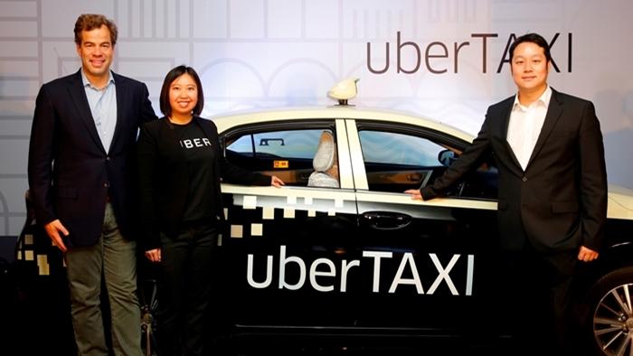 Uber จับมือ HOWA ผุดบริการ 'uberTAXI' ยกระดับธุรกิจแท็กซี่ ขยายฐาน Ridesharing