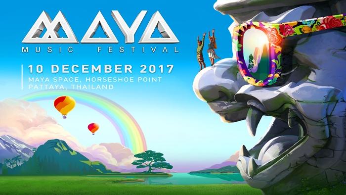 เตรียมตัวให้พร้อม เทศกาลดนตรีที่มาพร้อมกับเวทีหนุมานขนาดใหญ่ MAYA Music Festival 2017
