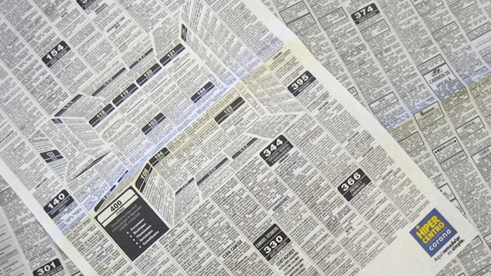 ฉีกไอเดียการโฆษณาเฟอร์นิเจอร์ในหนังสือพิมพ์ ด้วยการใช้ภาพ 3D