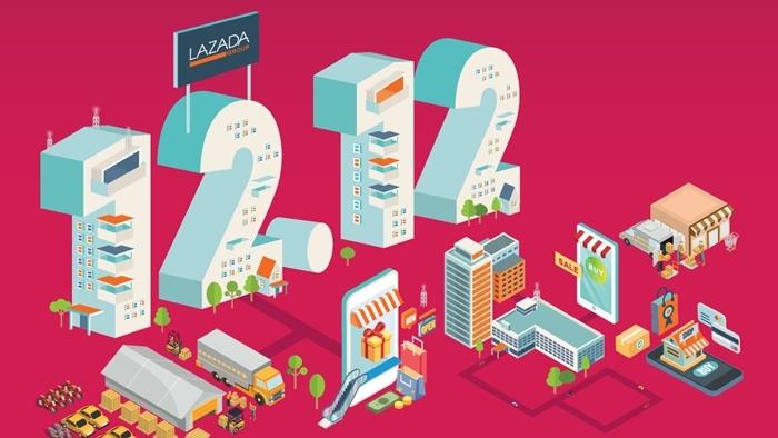 ลาซาด้า เผยมูลค่าซื้อขายสินค้ารวมสูงถึง 8 พันล้านบาท ทุบสถิติโค้งสุดท้ายของออนไลน์ เฟสติวัล ได้อย่างสวยงาม