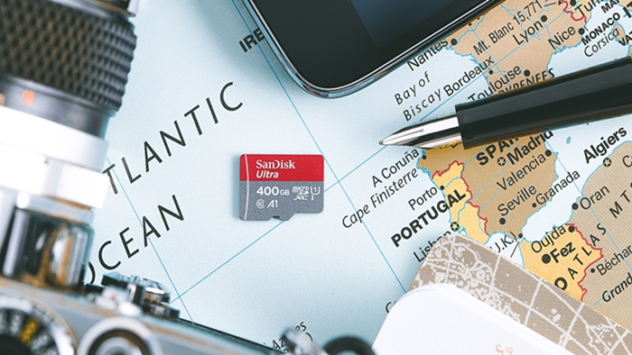 400GB microSD ของแซนดิสก์  การ์ดหน่วยความจำ ที่มีความจุมากที่สุดของโลก