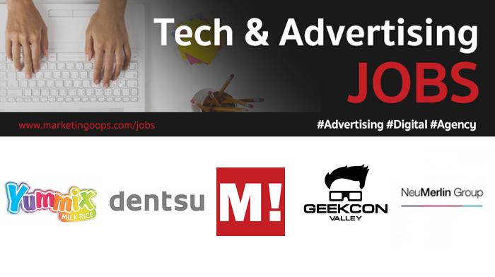 งานล่าสุด จากบริษัทและเอเจนซี่โฆษณาชั้นนำ #Advertising #Digital #JOBS 16 – 22 Dec 2017