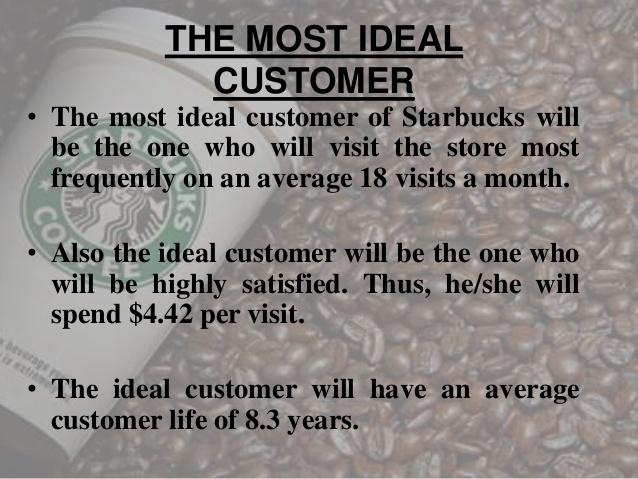 ตัวอย่าง Ideal Customer ของ Starbucks