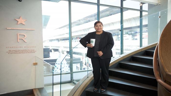 'เนตรนภา ศรีสมัย' หญิงไทยคนแรกที่ได้นั่งตำแหน่งแม่ทัพสตาร์บัค ประเทศไทย