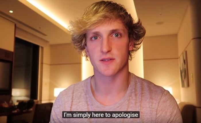 Logan Paul ทำคลิปขอโทษจากเหตุโพสต์วิดีโอศพฆ่าตัวตาย Youtube โดนด้วยฐานไม่รีบจัดการ