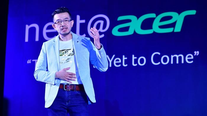"""คนเลือกคอมพ์ใหม่บางเบา-เกมมิ่ง """"acer"""" เผยตลาดโตแต่ Value ต่อยอดสู่ IoT จับเทคโนโลยีองค์กร"""