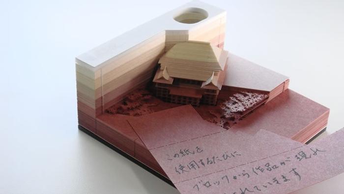 """โพสอิท """"Omoshiroi Block"""" ไอเดียล้ำๆ จากญี่ปุ่น รับรองว่าประทับใจแน่นอน"""
