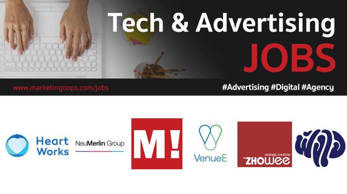 งานล่าสุด จากบริษัทและเอเจนซี่โฆษณาชั้นนำ #Advertising #Digital #JOBS 10-16 Feb 2018